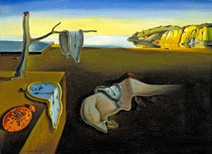 Картина художника Сальвадора Дали Постоянство памяти