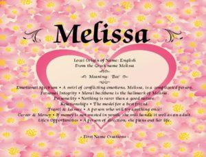 Значение женского имени Мелисса и его влияние на жизнь