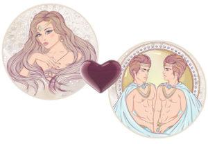 Совместимость для любви мужчина-Козерог и женщины-Близнецы