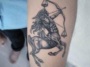 Лучшие татуировки знак зодиака Стрелец