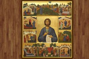 Русская православная икона Симеона Верхотурского