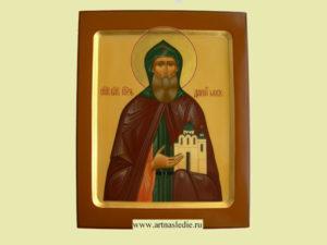 Знаменитая икона святого Даниила.