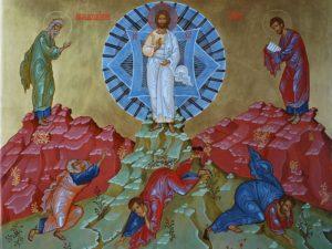 Русская православная Икона преображение Господне