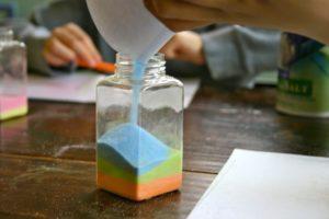Как самостоятельно сделать рассорку солью по фото