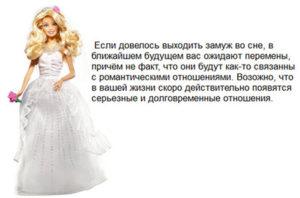 Толкование по соннику значения сна выходить замуж