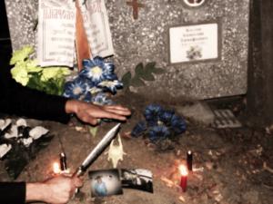 Как самостоятельно сделать отворот с помощью земли с кладбища