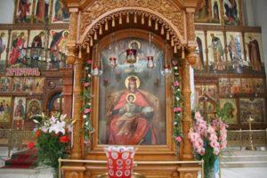 Чудотворная коломенская икона Божьей Матери.