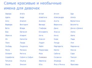 Красивые эстонские имена для мальчиков и девочек
