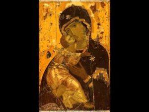 Византийские иконы Божьей Матери
