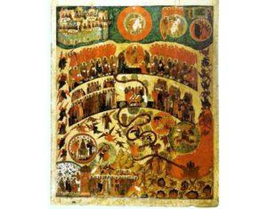 Христианская икона Страшный Суд