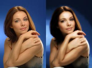 Как можно по фото сделать рассорку двух женщин