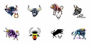 Татуировки для гороскопа знака зодиака Телец
