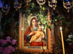 Чудодейственная Козельщанская икона Божьей Матери