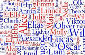 Популярные мужские и женские шведские имена