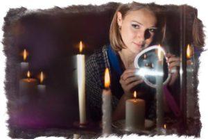 Как ведьма делает порчу на крест