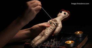 Настоящая порча с помощью куклы Вуду