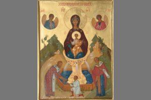 Чудотворная икона Божьей Матери Живоносный источник