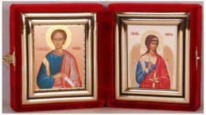 Православная икона Федора.