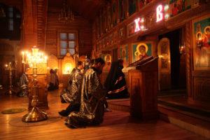 Понимание службы Великого поста в России